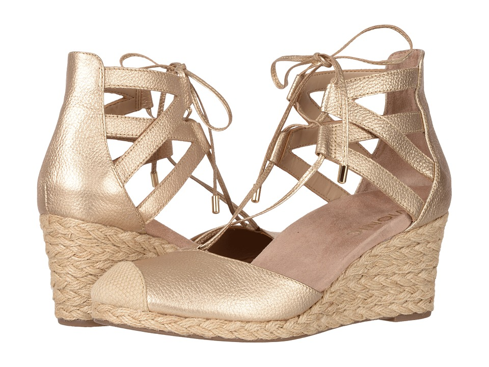 VIONIC - Calypso (Gold Metallic) Women's Wedge Shoes