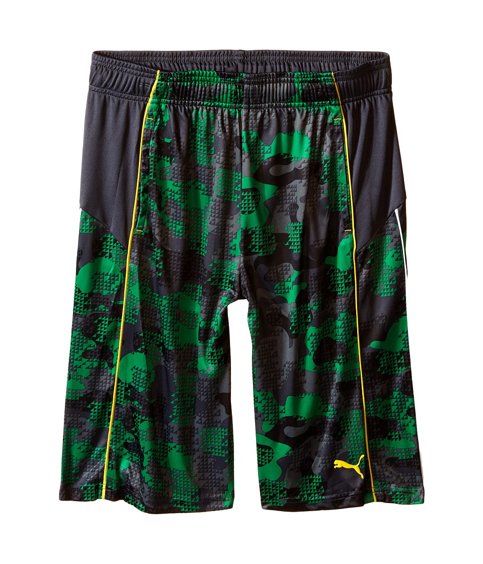 Puma Kids - Fall Printed Shorts (Big Kids) (Astro Turf) Boy's Shorts