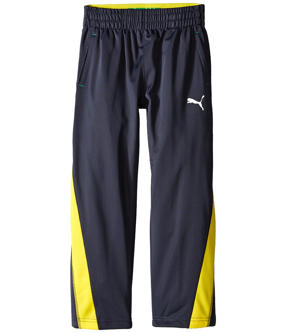 Puma Kids - Fast Track Pants (Little Kids) (Coal) Boy's Casual Pants