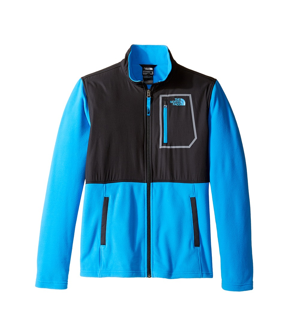 The North Face Kids - Glacier Track Jacket (Little Kids/Big Kids) (Clear Lake Blue Heather (Prior Season)) Boy's Coat