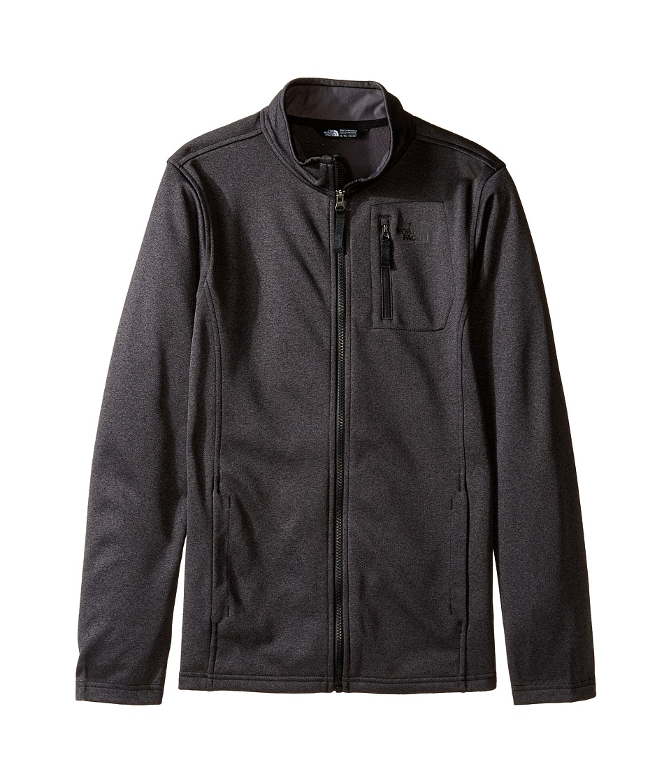The North Face Kids - Canyonlands Full Zip Jacket (Little Kids/Big Kids) (TNF Dark Grey Heather (Prior Season)) Boy's Coat