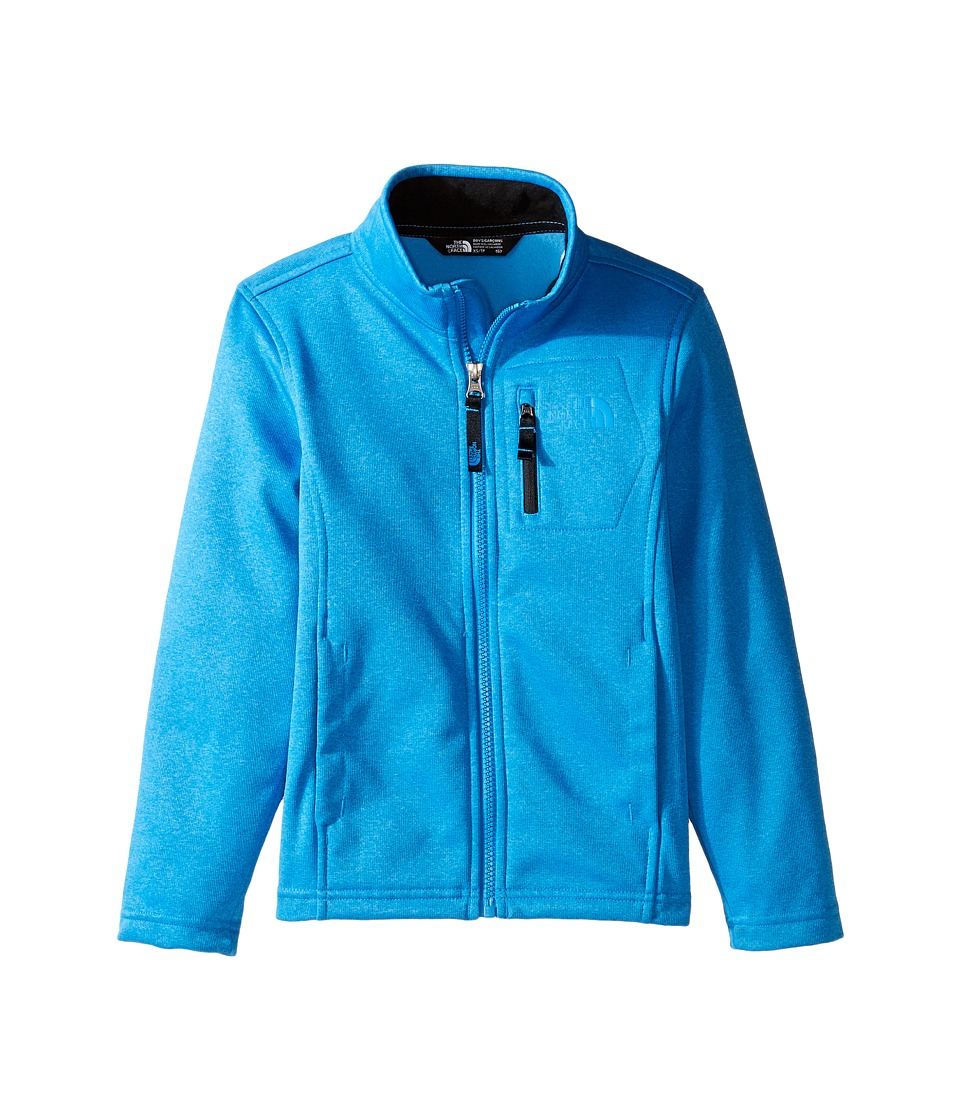 The North Face Kids - Canyonlands Full Zip Jacket (Little Kids/Big Kids) (Clear Lake Blue Heather (Prior Season)) Boy's Coat