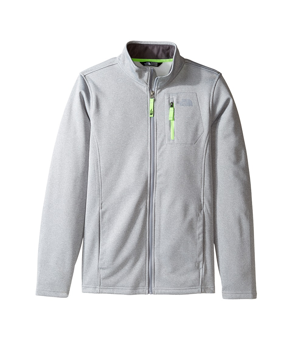The North Face Kids - Canyonlands Full Zip Jacket (Little Kids/Big Kids) (TNF Light Grey Heather (Prior Season)) Boy's Coat