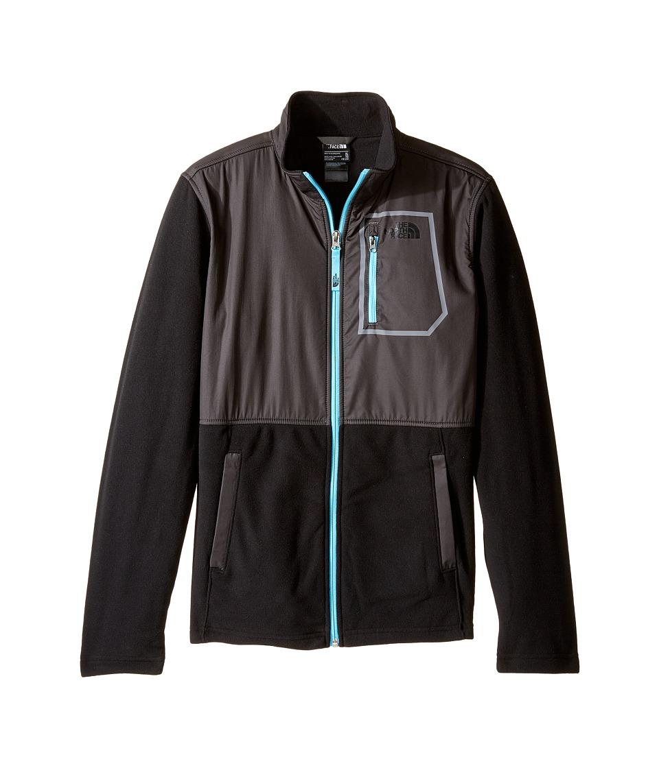 The North Face Kids - Glacier Track Jacket (Little Kids/Big Kids) (TNF Black (Prior Season)) Boy's Coat