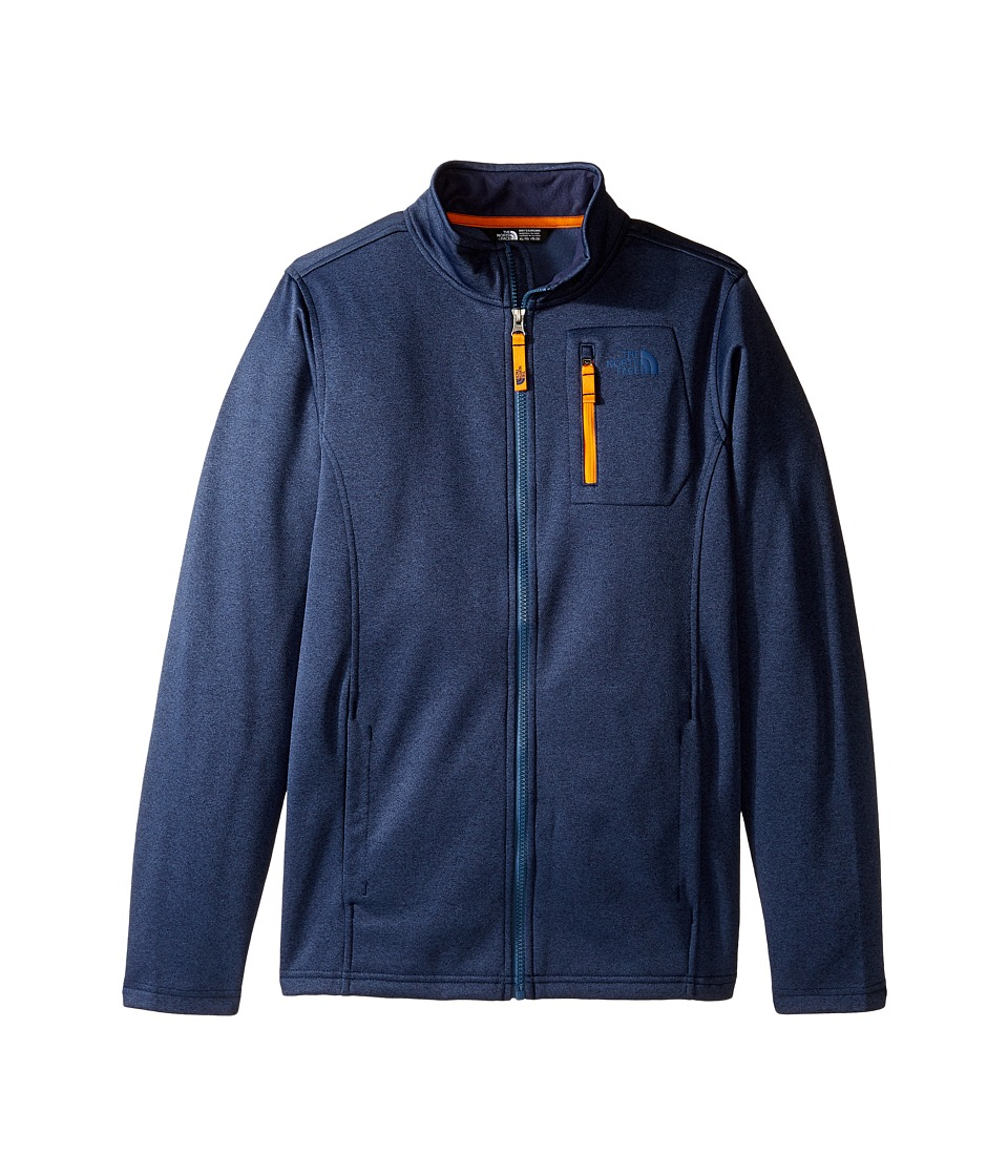 The North Face Kids - Canyonlands Full Zip Jacket (Little Kids/Big Kids) (Cosmic Blue Heather (Prior Season)) Boy's Coat