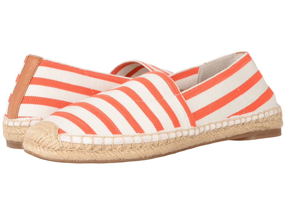 VIONIC - Valeri (Coral/Cloud Dancer Stripe) Women's Flat Shoes