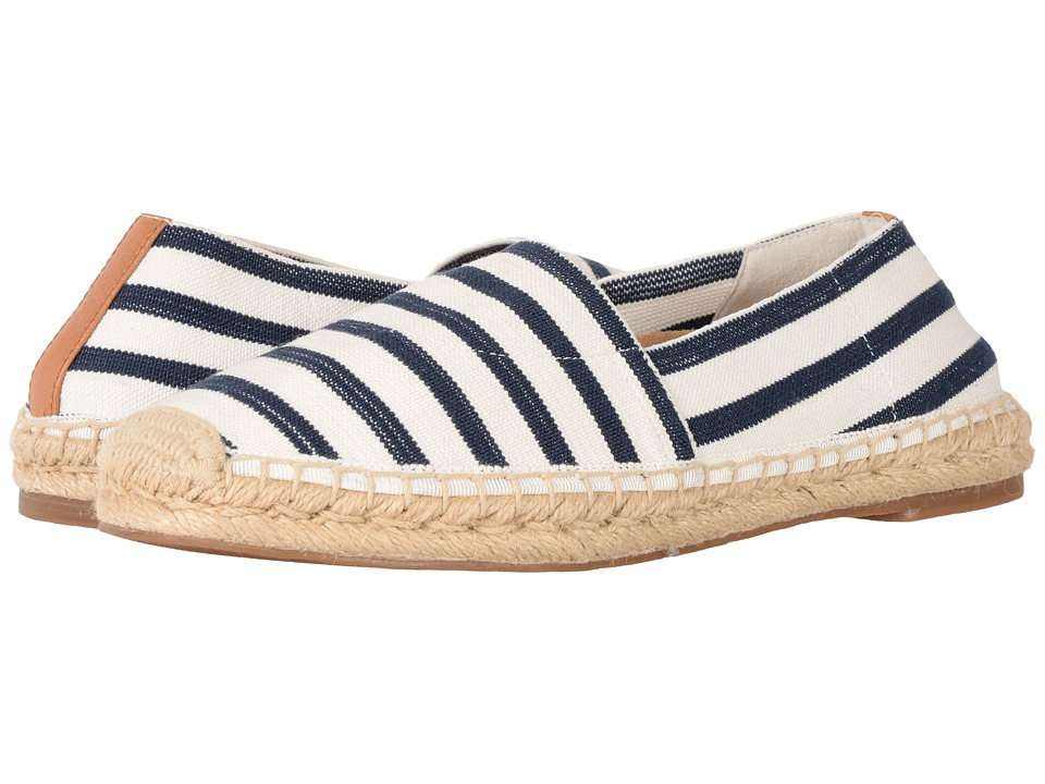 VIONIC - Valeri (Navy/Cloud Dancer Stripe) Women's Flat Shoes
