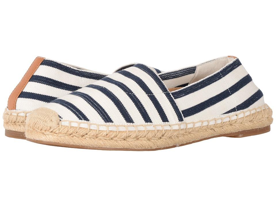 VIONIC - Valeri (Navy/Cloud Dancer Stripe) Women's Flat Shoes
