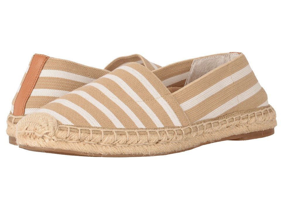 VIONIC - Valeri (Sand/Cloud Dancer Stripe) Women's Flat Shoes