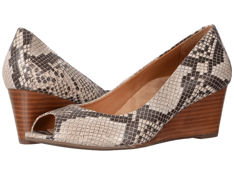 VIONIC - Bria (Natural Snake) Women's Wedge Shoes