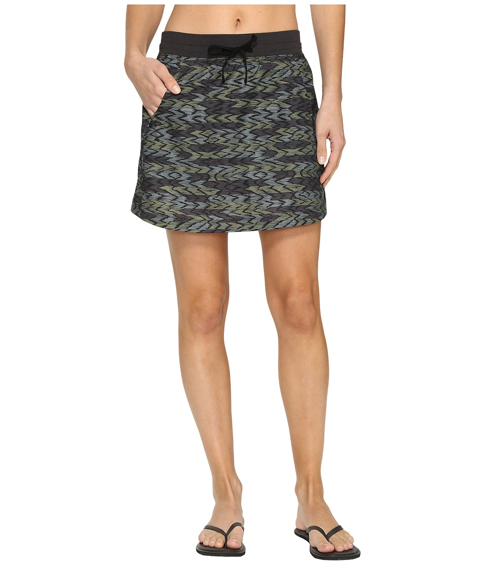 The North Face - Class V Skort (Graphite Grey Painted Ikat Print (Prior Season)) Women's Skort