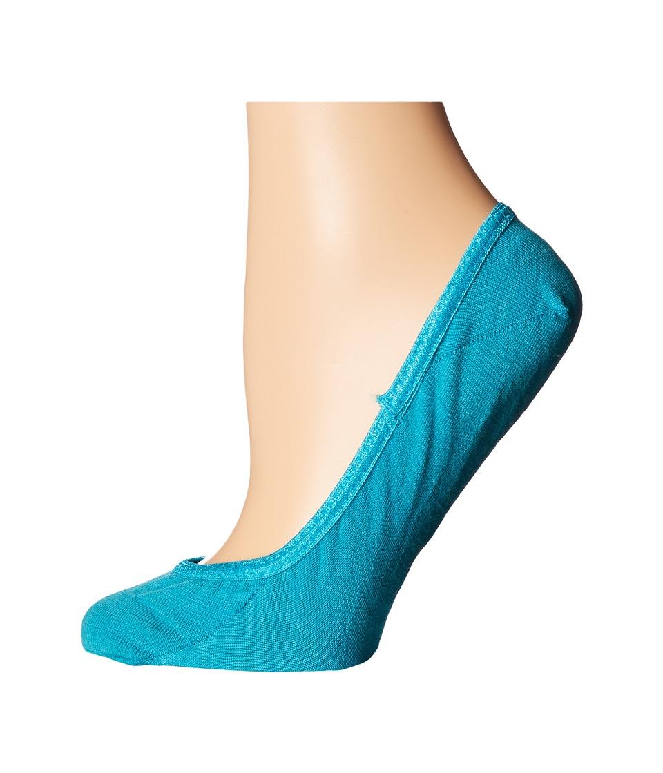 Smartwool - Secret Sleuth (Capri Blue Heather) Women's Crew Cut Socks Shoes