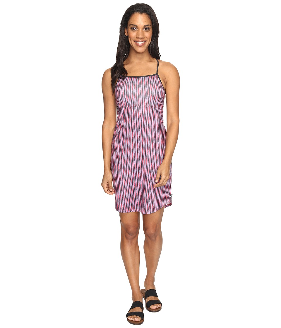 The North Face - Exposure Dress (Honeysuckle Pink Ikat Print (Prior Season)) Women's Dress