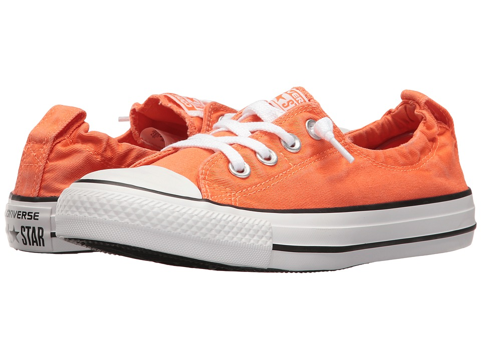 Converse - Chuck Taylor All Star Seasonal Shoreline Slip-On (Wild Mango/White/Black) Women's Classic Shoes