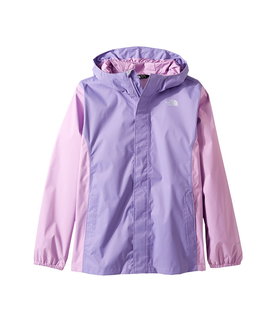 The North Face Kids Resolve Reflective Jacket (Little Kids/Big Kids) (Paisley Purple (Prior Season)) Girl