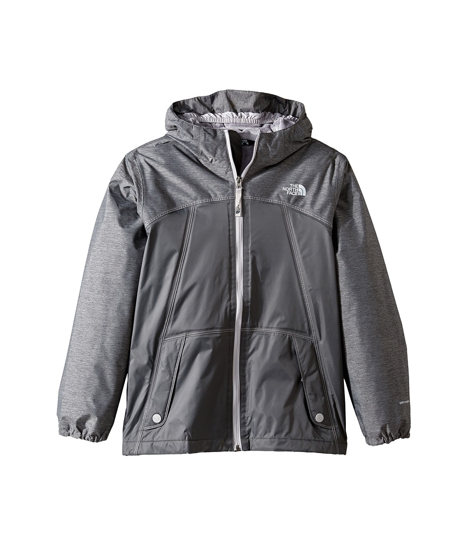 The North Face Kids - Warm Storm Jacket (Little Kids/Big Kids) (Graphite Grey/Graphite Grey Heather (Prior Season)) Girl's Coat