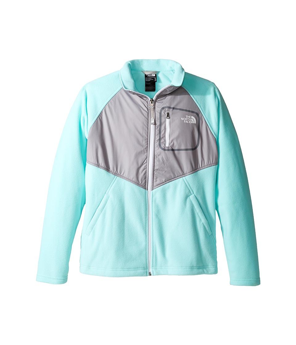 The North Face Kids - Glacier Track Jacket (Little Kids/Big Kids) (Breeze Blue (Prior Season)) Girl's Coat