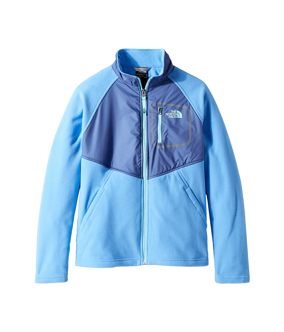 The North Face Kids - Glacier Track Jacket (Little Kids/Big Kids) (Provence Blue (Prior Season)) Girl's Coat