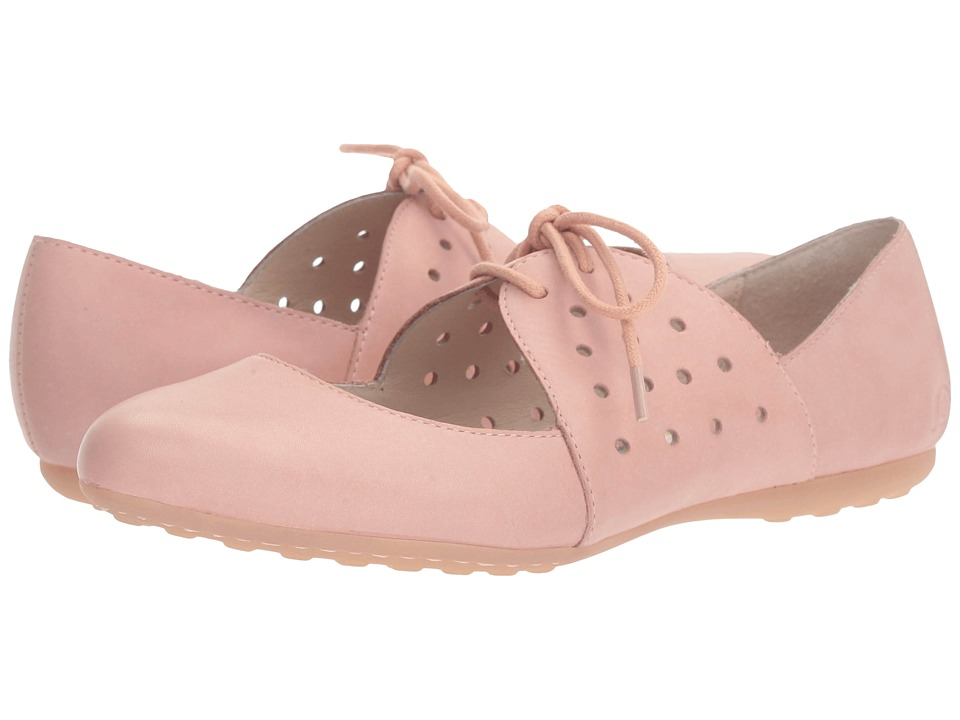 Born - Jakarta (Pink Full Grain) Women's Flat Shoes