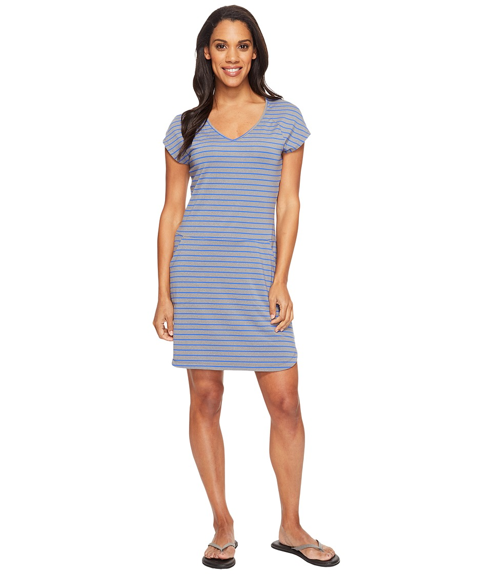 Lole - Energic Dress (Dazzling Blue Stripe) Women's Dress