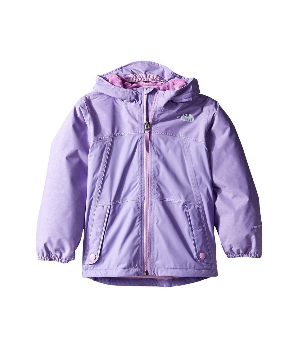 The North Face Kids - Warm Storm Jacket (Toddler) (Paisley Purple Heather -Prior Season) Girl's Coat