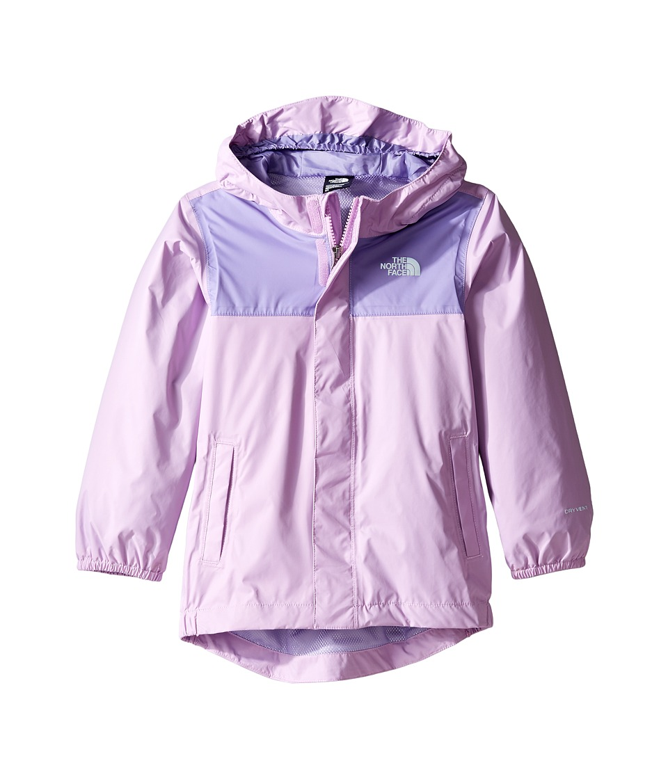 The North Face Kids Tailout Rain Jacket (Toddler) (Violet Tulle -Prior Season) Girl
