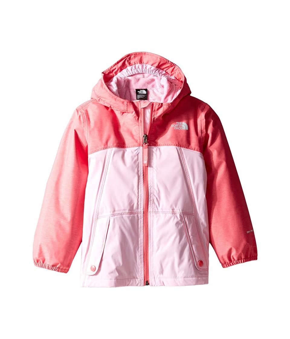 The North Face Kids - Warm Storm Jacket (Toddler) (Honeysuckle Pink Heather -Prior Season) Girl's Coat