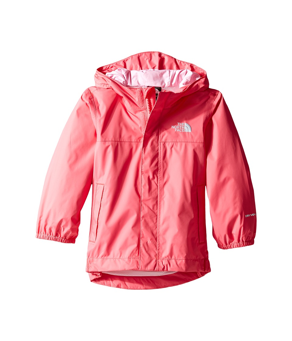 The North Face Kids Tailout Rain Jacket (Toddler) (Honeysuckle Pink -Prior Season) Girl