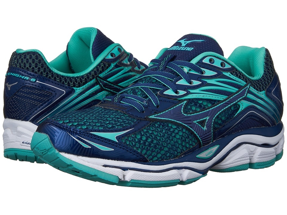 Mizuno - Wave Enigma 6 (Brunnera Blue/Mazarine Blue/Turquoise) Women's Running Shoes