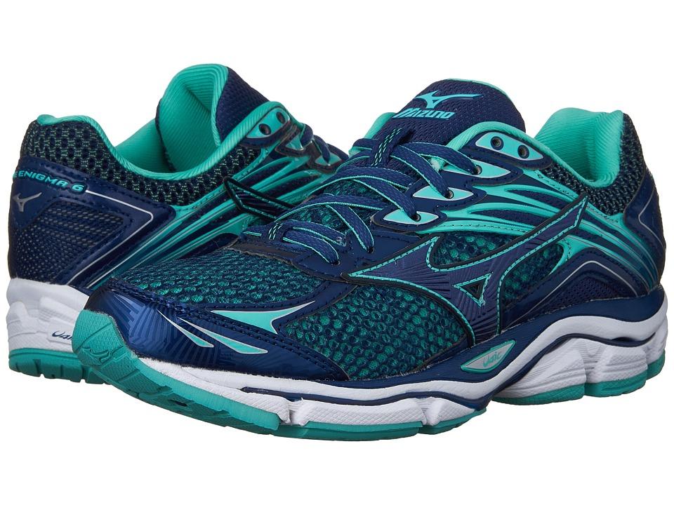 Mizuno - Wave Enigma 6 (Brunnera Blue/Mazarine Blue/Turquoise) Women's Running Shoes