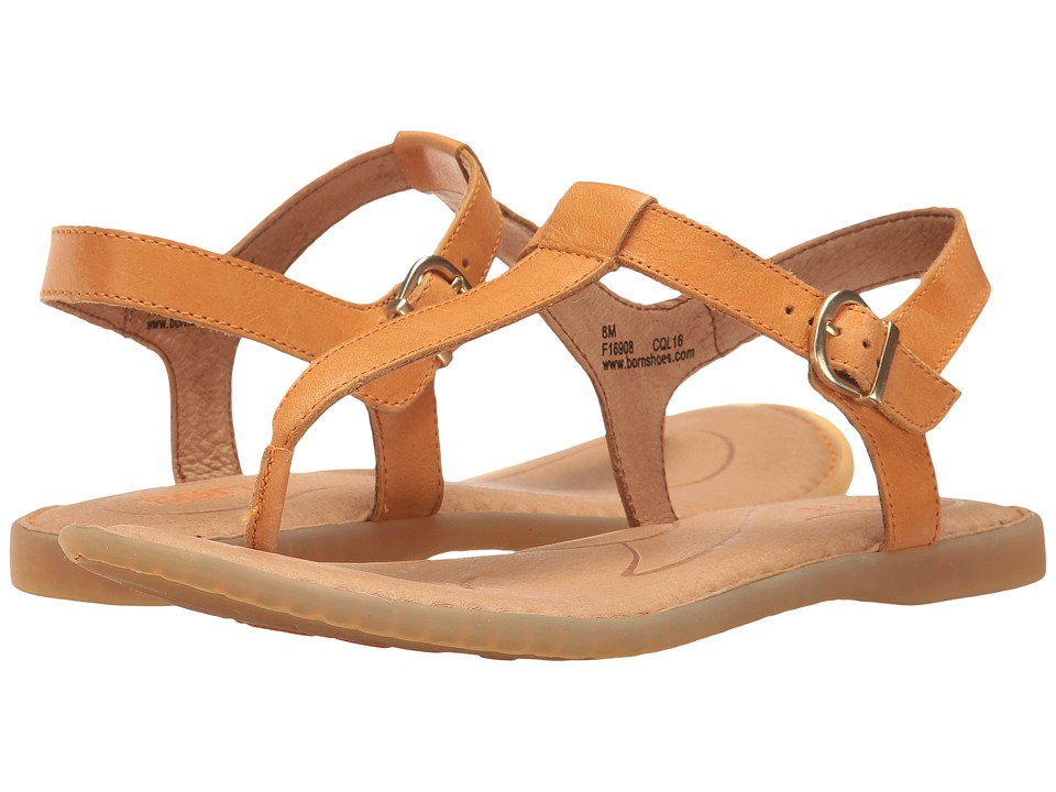 Born - Aswan (Orange Full Grain) Women's Sandals