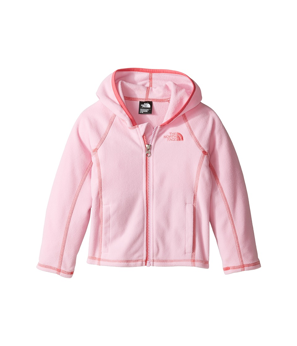 The North Face Kids - Glacier Full Zip Hoodie (Toddler) (Lilac Sachet Pink -Prior Season) Girl's Sweatshirt