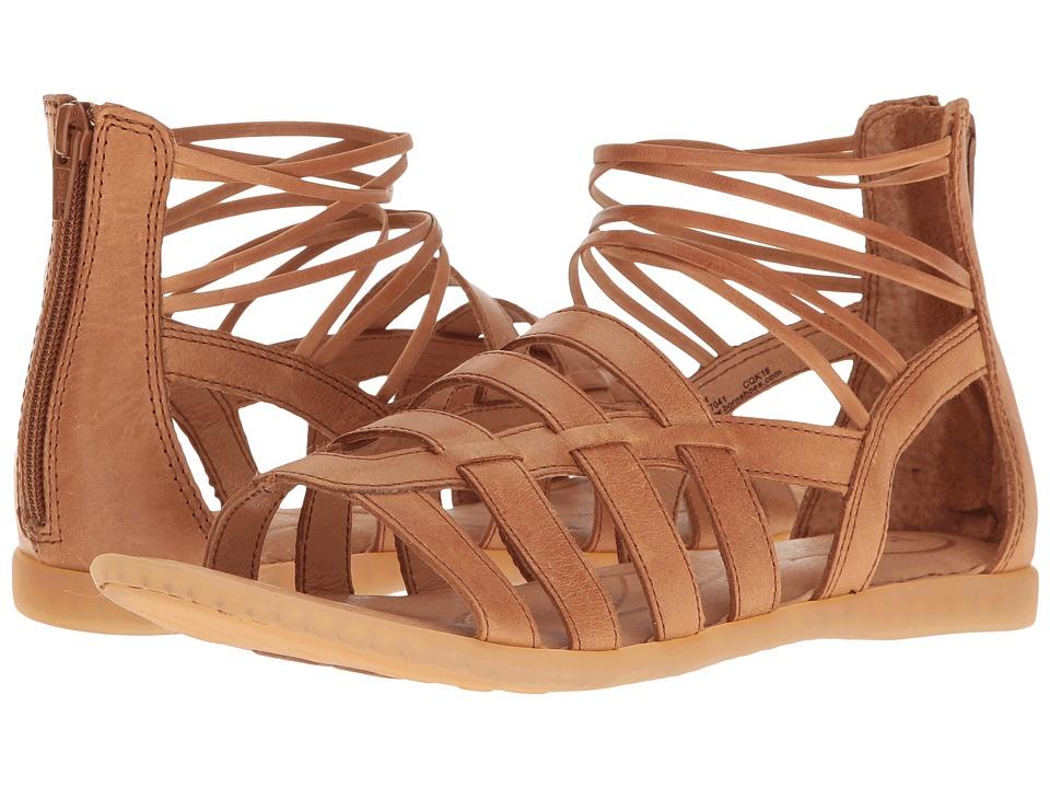 Born - Angeles (Light Brown Full Grain) Women's Dress Sandals