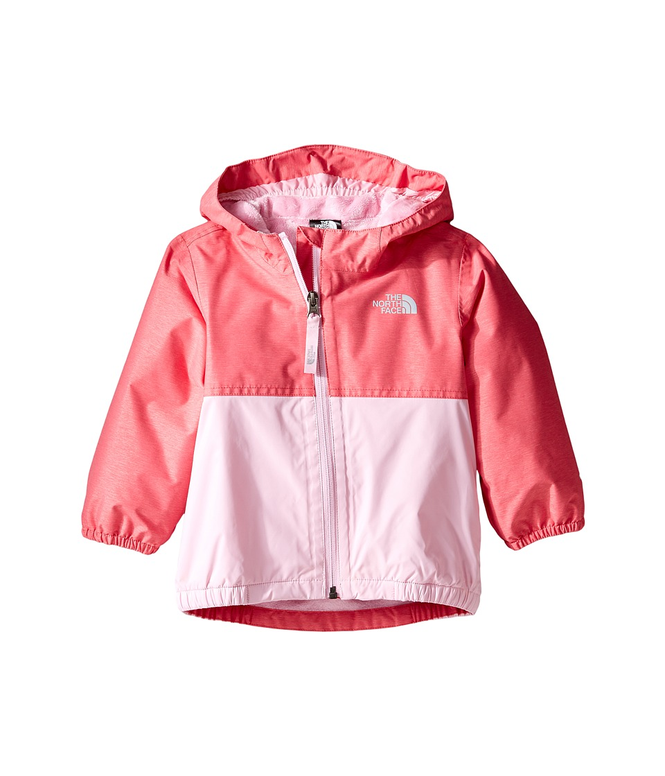 The North Face Kids - Warm Storm Jacket (Infant) (Honeysuckle Pink Heather -Prior Season) Kid's Coat