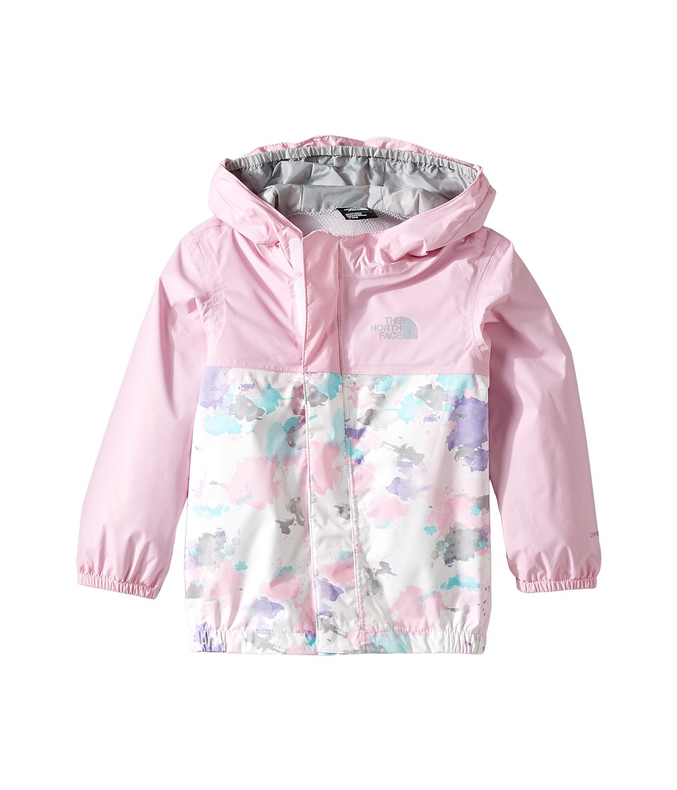 The North Face Kids - Tailout Rain Jacket (Infant) (Lilac Sachet Pink Watercolor Print -Prior Season) Kid's Jacket