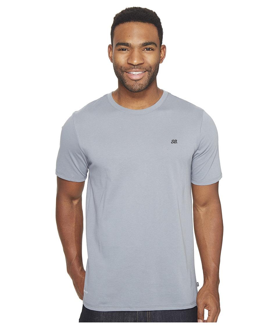 Nike SB - Dot Tee (Cool Grey/Cool Grey/Black) Men's T Shirt