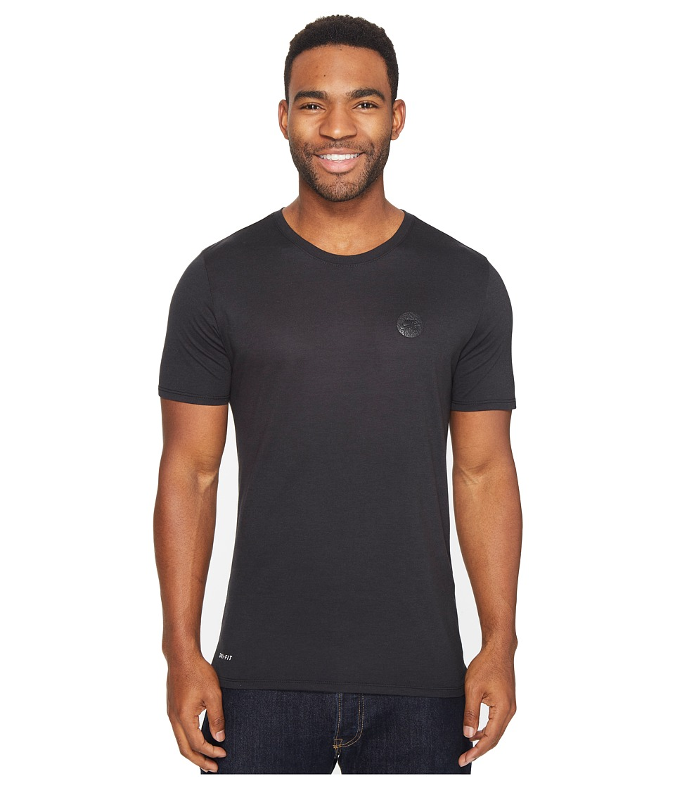 Nike SB - Driblend Patch Dry Tee (Black/Black) Men's T Shirt