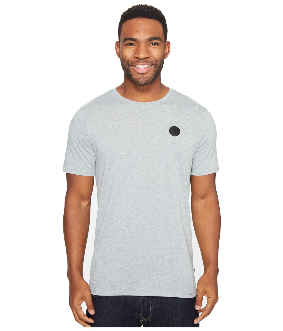 Nike SB - Driblend Patch Dry Tee (Dark Grey Heather/Black) Men's T Shirt