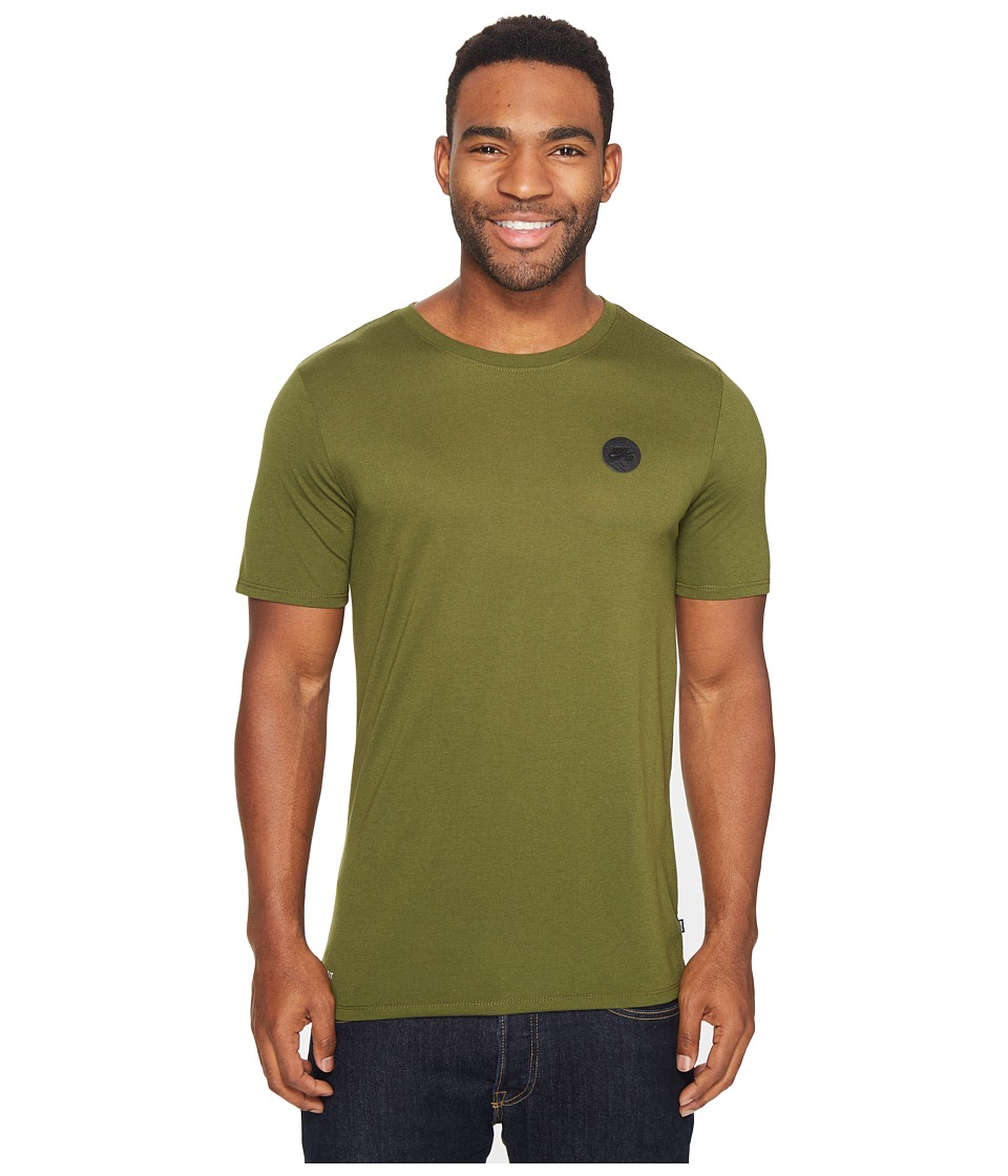 Nike SB - Driblend Patch Dry Tee (Legion Green/Black) Men's T Shirt