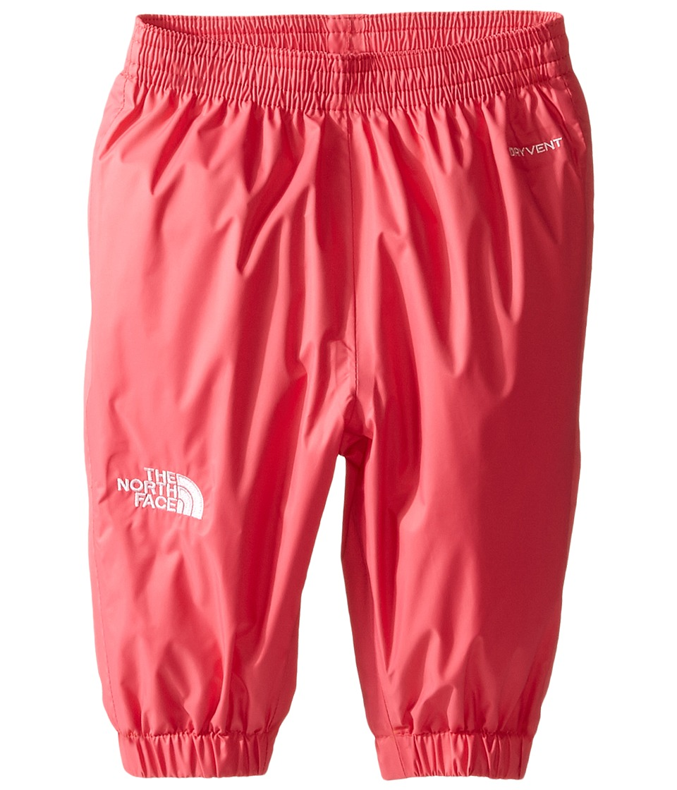 The North Face Kids - Tailout Rain Pants (Infant) (Honeysuckle Pink -Prior Season) Kid's Casual Pants