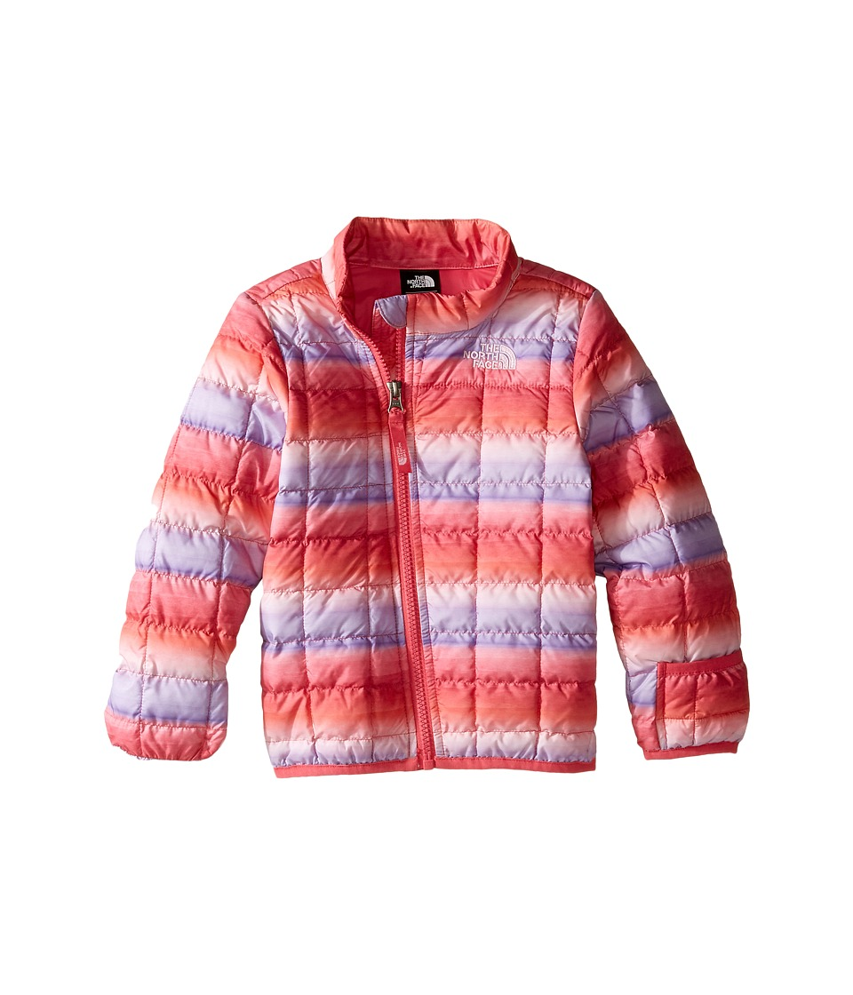 The North Face Kids - ThermoBall Full Zip Jacket (Infant) (Honeysuckle Pink Ombre Stripe Print -Prior Season) Kid's Coat