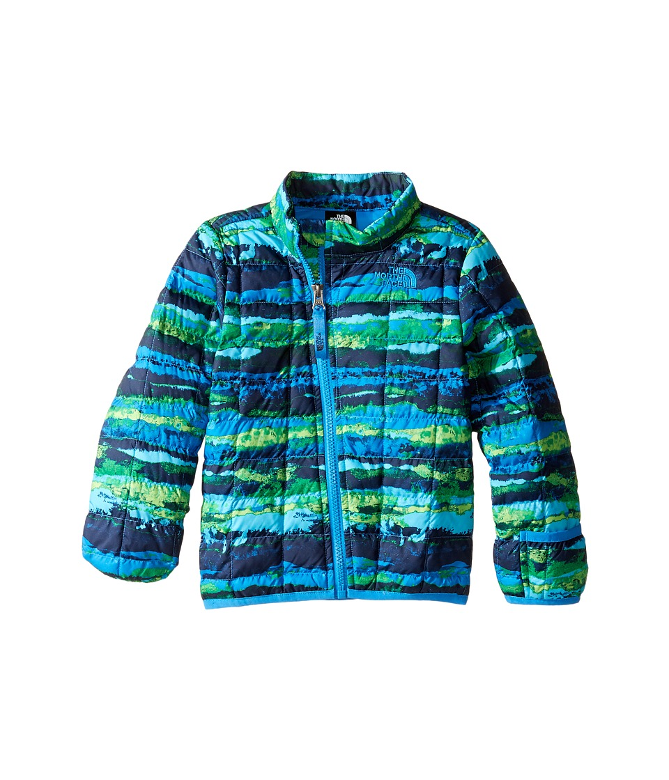 The North Face Kids - ThermoBall Full Zip Jacket (Infant) (Clear Lake Blue Horizon Print -Prior Season) Kid's Coat