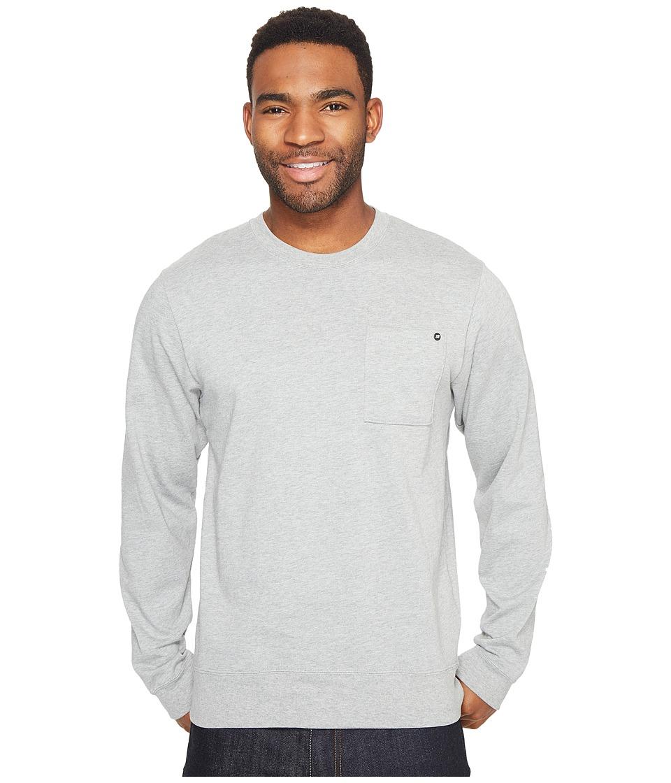Nike SB - SB Long Sleeve Top (Dark Grey Heather) Men's Long Sleeve Pullover