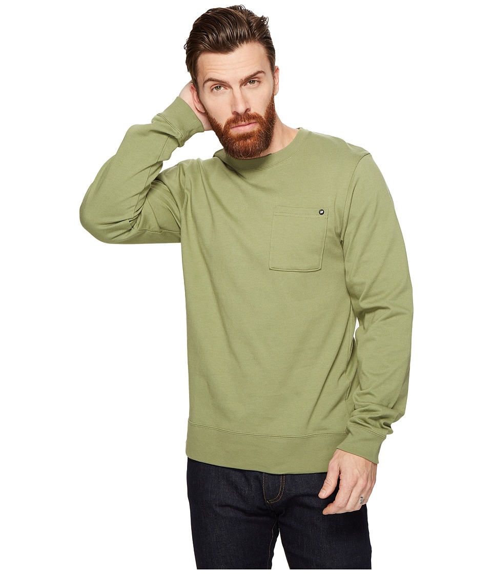 Nike SB - SB Long Sleeve Top (Palm Green) Men's Long Sleeve Pullover