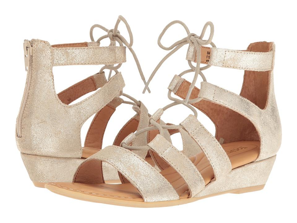 Born - Dakar (Gold Metallic) Women's Dress Sandals
