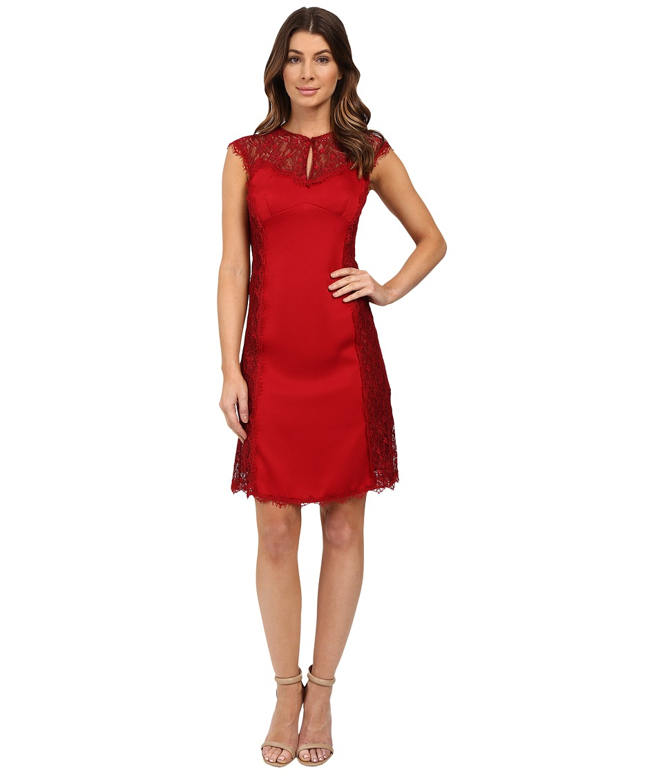 Nanette Lepore Empress Sheath Crimson Dress
