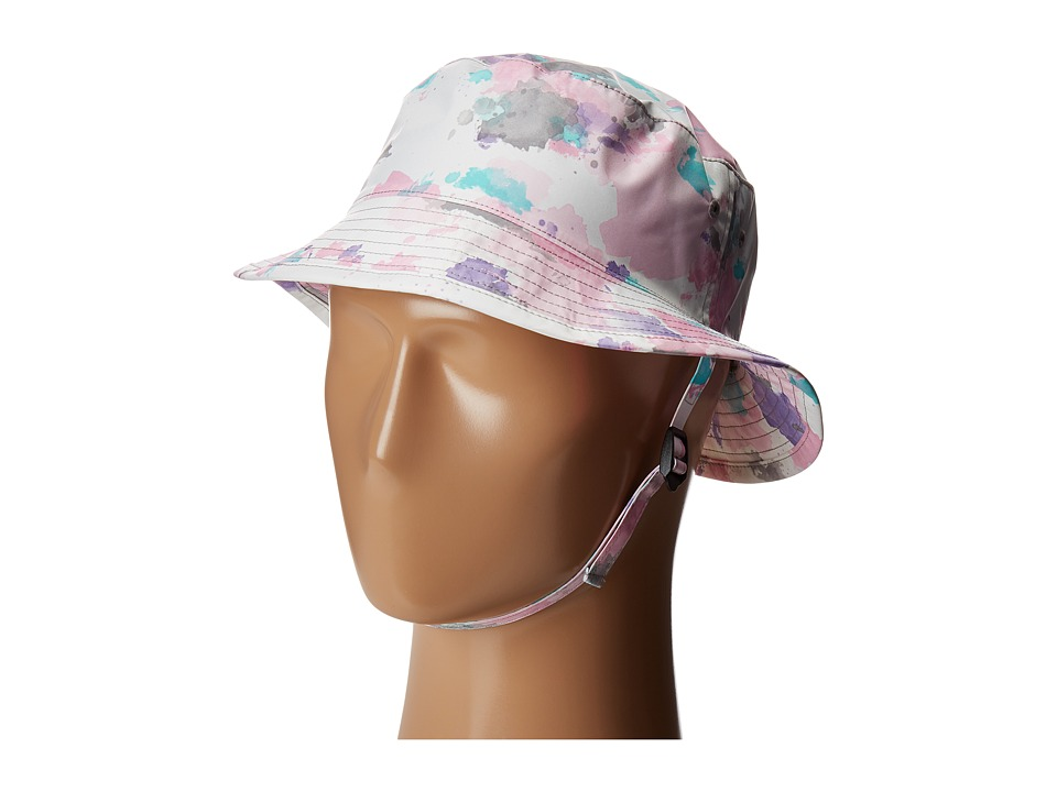 The North Face Kids - Youth Zipline Hat (Lilac Sachet Pink Watercolor Print (Prior Season)) Bucket Caps