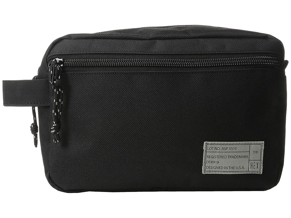 HEX - Dopp Kits (Aspect Black) Bags