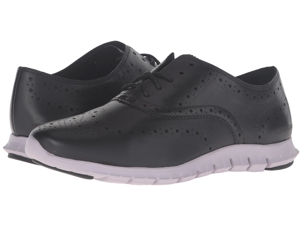 Cole Haan - Zerogrand Wing Ox (Black/Lavender Grey) Women's Shoes
