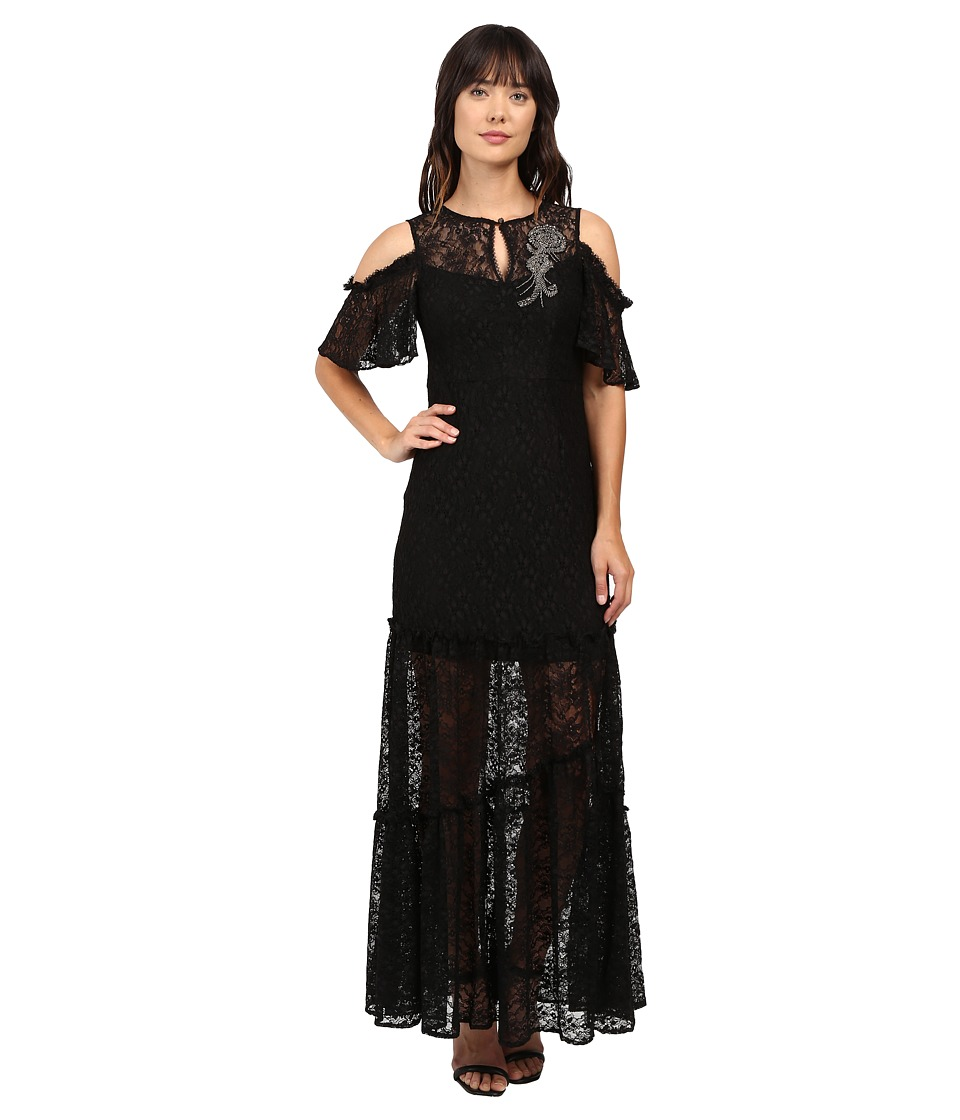 Nanette Lepore Song Dress (Black) Women